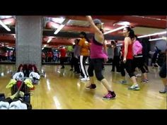 """""""Make it Shake""""  by Machel Montano, Busta Rhymes, Olivia and Fatman Scoop.  Love this one in class!  It is a super killer on the legs!  A second option I add is on the """"DROP, DROP"""" part of the song to go down and do 8 fast pushups!      From """"Dance Club"""" fitness class at Community Fitness, Seattle, WA.  choreography by Medora.    NO COPYRIGHT INFRING..."""