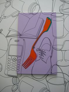 Michael Craig, ordinary objects, the colour makes the piece in the style of pop art which i enjoyed Outline Art, Outline Drawings, Art Drawings, Contour Drawings, Pop Art Drawing, Art Pop, Michael Craig, Observational Drawing, Ligne Claire