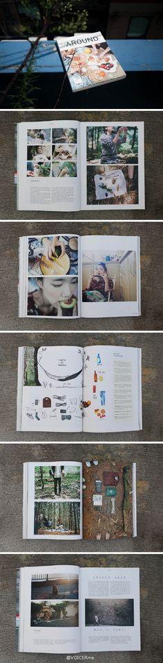 杂志|最近一段时间,一些轻松愉悦健康生活方式的小清新杂志层出不穷,韩国的《AROUND》就是其中之一,露营、骑车、登山、野餐、旅行⋯⋯偶尔远离繁忙的都市,从心出发亲近生活与自然,与朋友共度休闲时光。