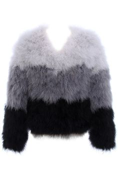 f01ced5c132 Shop [good_name] at ROMWE, discover more fashion styles online. Feather  CoatOstrich ...