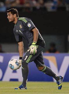 Sergio Romero, Argentina`s goalkeeper