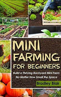 Mini Farming For Beginners: Build A Thriving Backyard Mini Farm, No Matter How Small The Space (Homesteading - Backyard Gardening - Handbook - Organic) by Bradley Blair, http://www.amazon.com/dp/B00PPPTYBG/ref=cm_sw_r_pi_dp_KP2Aub1GK800X