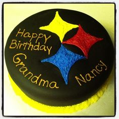 Steeler's birthday cake