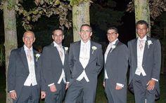 Mr Pamplin and groomsmen 2014  grey tails, wedding, groom https://www.facebook.com/anthonyformalwear/photos/a.185444661493567.34694.185245478180152/818770508160976/?type=3