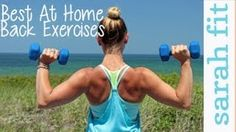Top 3 at Home Back Exercises For Women - YouTube