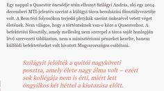 Néha a Quaestor-ügyön dolgozó ügyészek is tragikusan fiatalon meghalnak, ugye? – Kolozsvári Szalonna És Hir-Telen Beszólunk