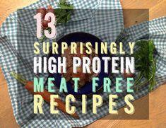 13 Surprisingly High-Protein Vegetarian Recipes