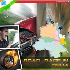 Growing cases of 'Road Rage' in Delhi: Short-tempered drivers have made the roads of Delhi very dangerous and unsafe for others. With the rising frequency of such incidents, this issue is giving rise to serious concerns and calls for urgent preventive steps.