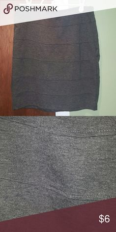 Gray pencil skirt Perfect for work or play, Gray pencil skirt from Basic House Basic House Skirts Pencil