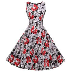 Sleeveless Mid-calf Party Dress