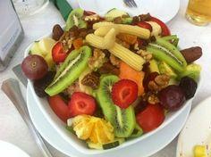 Tropical Salad on the Granada Coast, Spain  Click to read more about Granada calendar dates & fiestas