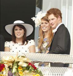 York Sisters:  Eugenie, Beatrice, Harry