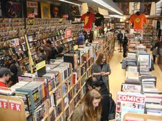 A quick tour of some of the comic book shops in Manhattan | Midtown Comics