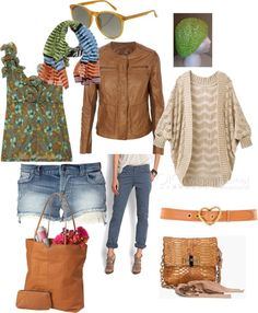 """Soft Autumn casual summer wear"" by tunafiska on Polyvore"