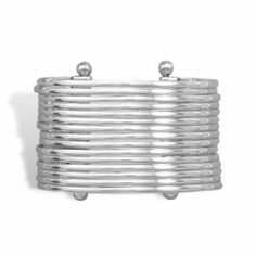 Sterling Silver 15 Band Cuff Bracelet Sterling Silver Collection. $518.94. Save 25%!