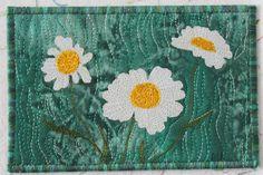 fabric postcards | Anne's Creative Threads