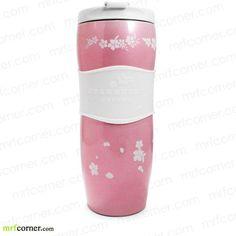 S155 12oz Starbucks Spring Sakura Stainless Steel Tumbler Pink Cups, Starbucks Tumbler, I Love Coffee, Cherry Blossom, Tumblers, Stainless Steel, Mugs, Spring, Tableware