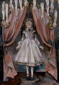 Arte Horror, Horror Art, Dark Art Illustrations, Illustration Art, Character Art, Character Design, Arte Obscura, Creepy Art, Pop Surrealism