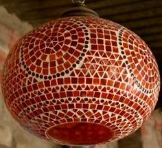 These colorful glass mosaic hanging lamp shades would surely make your house look elegant and stylish. Wait is over , go and get them before anyone else at https://shilpbazaar.com/en/38-glass-lamps-
