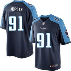 Nike Limited Derrick Morgan Navy Blue Men s Jersey - Tennessee Titans  91  NFL Alternate Tennessee 1ebe1a3e3