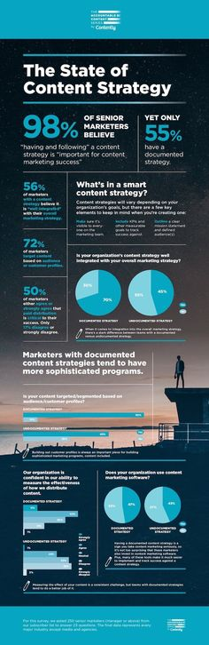 The State of Content Strategy - #infographic #startups&entrepreneurs
