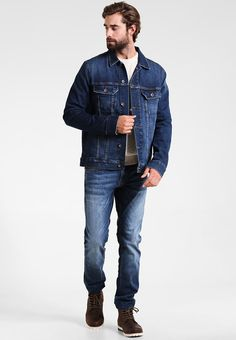 Mustang OREGON TAPERED - Vaqueros slim fit - stone washed 3YGlvuBP3
