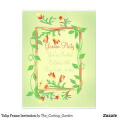 Tulip Frame Invitation