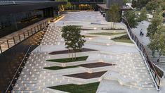 Xiqu Opera CentreAfter it was decided to locate the main […] Ramp Design, Steps Design, Facade Design, Concept Architecture, Landscape Architecture, Architecture Design, Landscape Elements, Landscape Design, Garden Design
