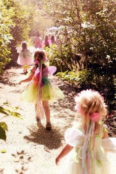 Fairy Girly Party in the Woods.