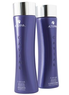 The best shampoo and conditioner ever.