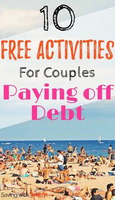 We're trying to pay off debt and it's so tempting to go spend money we should be saving and budgeting. Money Tips, Money Saving Tips, Saving Ideas, Show Me The Money, How To Make Money, Paying Off Student Loans, Free Activities, Family Activities, Get Out Of Debt