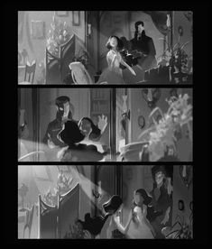 Value comps for a key scene