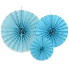 Pack 3 Rosetones Azul
