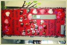 "Valentines Day Classroom Door  I ""mustache"" you a question... February Classroom Door or Bulletin Board"