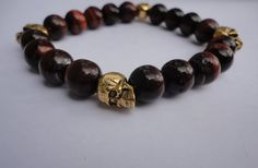 Check out this item in my Etsy shop https://www.etsy.com/listing/114094593/mens-bracelet-red-tigers-eye-bracelet