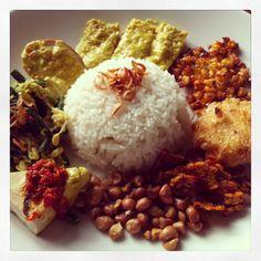 Nasi Campur Bali :)