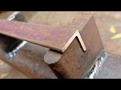 Sheet Metal Bender, Metal Bending Tools, Metal Shop, Homemade Tools, Metal Fabrication, Metal Working, The Creator, Iron, Welding