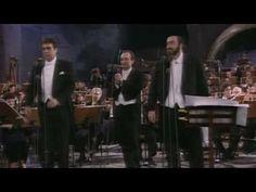 """The three tenors """"Nessun dorma"""", 1990"""