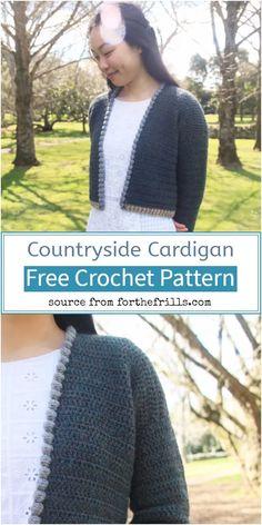 50 Best Crochet Cardigan Patterns (Design & Ideas) For 2021 Crochet Jacket Pattern, Crochet Shawl, Crochet Stitches, Free Crochet, Crochet Patterns, Free Pattern, Pattern Design, Shawl Cardigan, Types Of Dresses