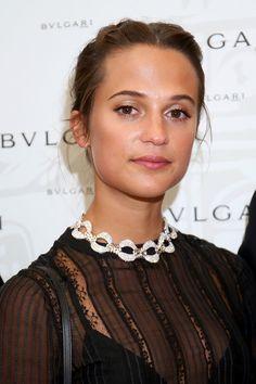 Alicia Vikander Photos Photos - Alicia Vikander attends the Bvlgari Tribute To…