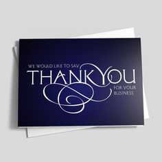 64 best business thank you cards images on pinterest in 2018 business thank you cards home business greeting cards thank you cards business colourmoves
