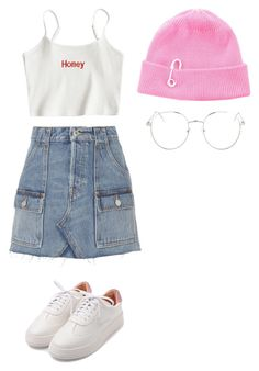 """""""Untitled #1"""" by allisonw520 ❤ liked on Polyvore featuring TIBI, RE/DONE and Topshop"""