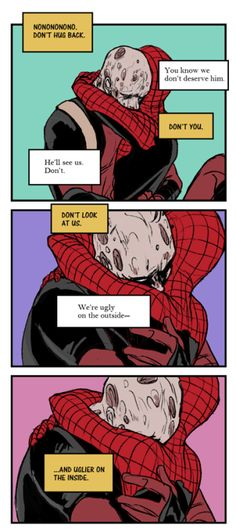 Marvel's Peter Parker/Spiderman and Wade Wilson/Deadpool -- the rare things I actually secretly relate to