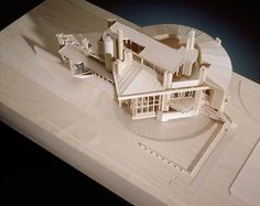 "George Ranalli, Architect exhibition model for ""Carlo Scarpa, Architect: Intervening with History"" May 26 to October CCA, Montréal, Main Galleries. Concept Models Architecture, Architecture Student, Architecture Drawings, Modern Architecture, Carlo Scarpa, Exhibition Models, Design Floral, Arch Model, Modelos 3d"