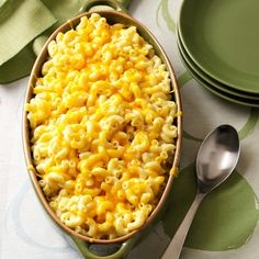 This delicious dish is the ultimate comfort food. A blend of five cheeses, it makes a beautiful entree or a special side. I served it at our Thanksgiving dinner, and it received rave reviews. —Connie L McDowell, Greenwood, Delaware