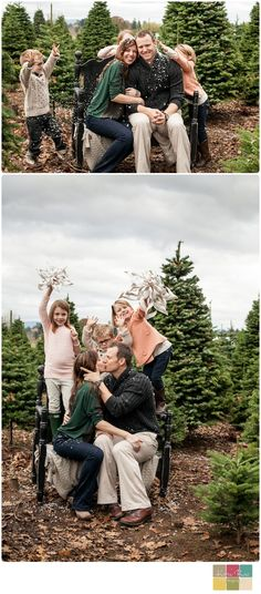 REPIN: Kari Rae Photography   A White Christmas with The S Family   Portland Family Photographer
