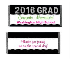 Candy Bar Wrapper Graduation Template Free Printable  Graduation