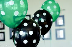 Paisley Petal Events soccer party balloons