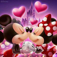 """""""Mickey enamorado"""""""