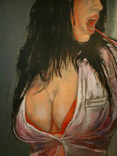 "Yury Ermolenko,""SILICON"" project, 2007 acrylic on canvas 200x150cm #YuryErmolenko #Ermolenko #RapanStudio #ЮрийЕрмоленко #Ермоленко #ModernArt #FineArt #ContemporaryArt #Painting #acrylic #AcrylicPainting #project #impressive #wonderful #colorful #art #picture #silicon #girl #girls #sexy #sex #breast #buttocks #desire #lips #beauty #woman #akt #red #orange #ardour #passion #beguin #lust #concupiscent #lustful #sensual  #libidinous #hot #prurient #botox #HotGirl #nude #naked #живопись"